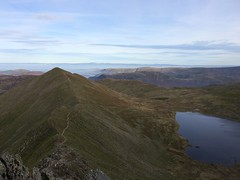 Sharp edges (dark_dave25) Tags: martindale bungalow helvellyn striding edge lake district tarn walking hiking holiday 2016 october