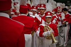 Band Camp (Tim Schreier) Tags: nyc newyorkcity macys macysthanksgivingdayparade band marchingband thanksgiving parade newyorkny manhattan uws upperwestside