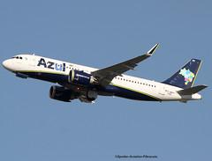 AZUL Linhas Areas Brasileiras. Airbus A320 NEO. (Jacques PANAS) Tags: azul linhas areas brasileiras neo airbus a320251nwl pryrc fwwbi msn7291