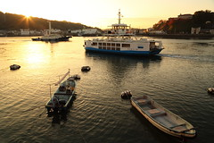 Harbor in the morning light (Teruhide Tomori) Tags: port harbor onomichi hiroshima japan boat seaside waterfront        morning light ferry