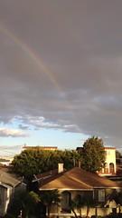 Couple of more Rainbows over Torrance. #rainbow #torrance #colorful #skysnappers #rainbows #pretty #clouds #video (Jordon Papanier) Tags: rainbow torrance colorful skysnappers rainbows pretty clouds video