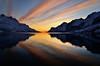 golden reflections (John A.Hemmingsen) Tags: sunset seascape reflection colors clouds landscape troms ersfjordbotn micarttttworldphotographyawards micartttt nikkor1685dx bestcapturesaoi nikond7000