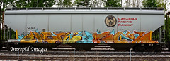 haste   scum (INTREPID IMAGES) Tags: street railroad abstract color art train bench graffiti fan paint steel sony graf tracks indiana rail railway trains tags images canadian railcar scum intrepid boxcar graff cpr hopper railfan freight gr8 paintedtrains haste fr8 2011 railbox benching railroadgraffiti paintedsteel railer inrepid intrepidimages