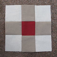 Monday, 4/9 (amyehodge) Tags: quilt squares quilting block ninepatch 9patch piecing handsewing handpiecing