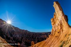 Flare to Bryce Canyon (Massimiliano e Paola - Wildplanet.it) Tags: utah flickr tropic portfolio brycecanyon statiuniti wwwmassimilianoeleotacom