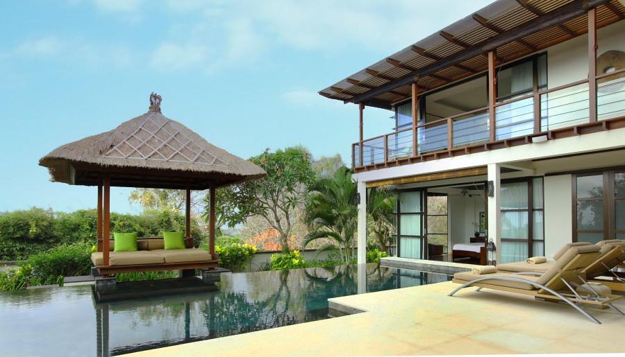 Villa Adenium - Pool and master suites