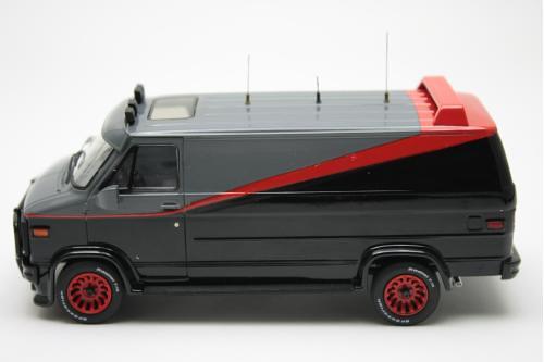 天龍特攻隊的怪頭愛車GMC Classic VAN