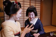 DSC28231 (self-unemployed) Tags: japan kyoto maiko geiko miyagawacho kawahisa ozashikiasobi