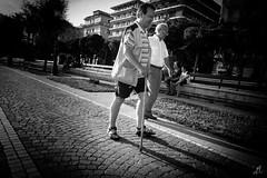 \\ Lentamente (Francesco Agresti  www.francescoagresti.com) Tags: street people blackandwhite bw italy photography blackwhite italia campania candid sony streetphotography streetlife frankie salerno eboli nex juststreetphotography nex3 sonynex s8un3no frankies8un3no francescoagresticom