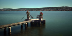 Lake Zurich, Private Jetty (adamw084) Tags: lake schweiz switzerland nikon suisse swiss zurich nd lakezurich d600 nikond600