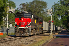 Backwards Heritage (trainboy03) Tags: iowa ia interstate davenport 513 iais