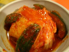 Kimchi @Stamina-En, Hongmeilu, Shanghai (Phreddie) Tags: china food beer night japanese restaurant yum shanghai beef bbq meat eat korean barbecue friday tgif yakiniku staminaen 130524