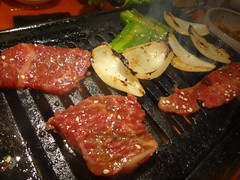 Mixed Red Meat @Stamina-En, Hongmeilu, Shanghai (Phreddie) Tags: china food beer night japanese restaurant yum shanghai beef bbq meat eat korean barbecue friday tgif yakiniku staminaen 130524