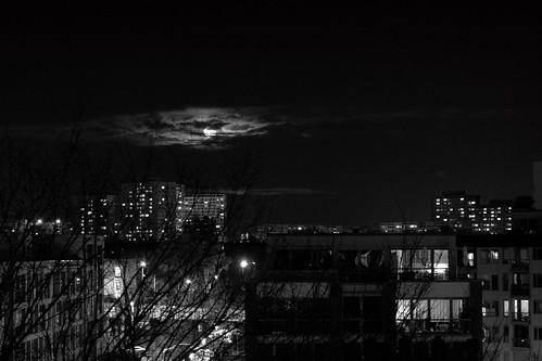 Moonrise, Lichtenberg, Berlin