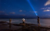 Signaling The Fish (tobyharriman) Tags: pictures ocean longexposure sea night canon stars photography hawaii coast fishing fisherman fishermen oahu scenic clear flashlight honolulu portlock starrynight chinawalls tobyharriman goalzero