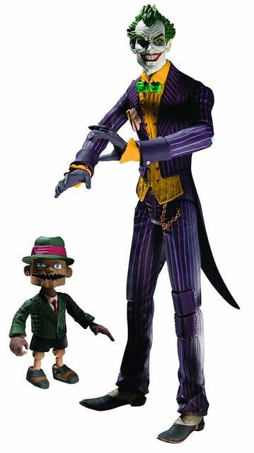 【蝙蝠俠:阿卡漢起源】吊卡玩偶第一波:小丑 & 班恩 看起來有夠嫩~
