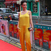 Amy Manson arriving for the World Premiere of Not Another Happy Ending at Festival Theatre
