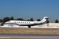 N100ES G650 S/N: 6014 (KSBD Photo) Tags: airport bur burbank g6 bobhope gulfstream sn 6014 kbur g650 n100es glf6