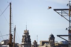 Mundials de natacio Barcelona 2013 (Pere Nubiola) Tags: world barcelona man male sport swimming canon eos high diving fina catalunya mm championships 27 meters 2013 40d 55250