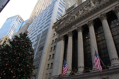 New York Stock Exchange (koborin) Tags: nyc newyorkcity travel ny newyork manhattan financialdistrict wallstreet lowermanhattan broadstreet newyorkstockexchange thestarspangledbanner
