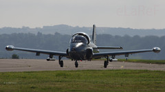 G-SOAF BAC Strikemaster ex RAFO '425' (eLaReF) Tags: ex bob airshow athome leuchars bac battleofbritain 425 adx strikemaster rafo gsoaf egql