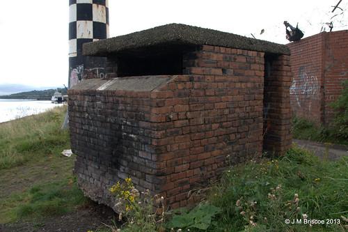 Minewatchers' Post, West Quay, Port Glasgow