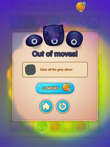 Jelly Splash Save Me!: screenshots, UI