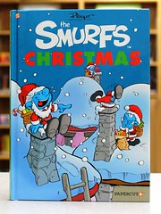 Smurfs Christmas (Vernon Barford School Library) Tags: christmas new school fiction holiday reading book high holidays graphic library libraries magic hard reads books read celebration celebrations fantasy cover junior novel covers graphicnovel bookcover smurf middle vernon magical smurfs recent bookcovers graphicnovels novels fictional hardcover barford peyo fantasyfiction hardcovers papercutz vernonbarford 9781597074520