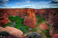 Canyon de Chelly, Arizona (concho cowboy) Tags: monument landscape national navajo nationalparks anasazi canyondechellyarizona