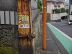 A Slice of Street Art (CentipedeCarpet) Tags: street art japan four tokyo photos bokeh panasonic micro 日本 東京 unlimited thirds yoyogiuehara 代々木上原 gx7 1235mmf28