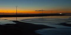 Nocturnas - Cata n 37 - Luz crepuscular (MerceMA57) Tags: espaa atardecer europa catalunya tarragona continente deltadelebro comunidadesautnomasprovincias localizacionesdelmundo