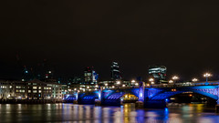 Blackfriars Bridge and The City