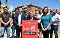 """El PSC crearà una """"Oficina Tècnica del Soterrament"""""""