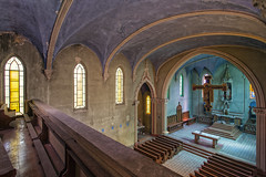 Holy Blue (klickertrigger) Tags: urban abandoned church architecture colorful decay indoor stefan exploration dietze
