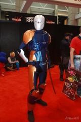 IMG_4457 - Cyborg Ninja (Anime Nut) Tags: cosplay mgs metalgear grayfox c2e2 cyborgninja chicagocomic