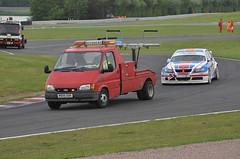 06th June 2010 BTCC Oulton Park (rob  68) Tags: 06th june 2010 btcc oulton park martin depper car 30 forster motorsport bmw 320si ford transit mk3 recovery m995 ook not registered by 2017