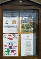 Noticeboard SDIM1581 (szczel) Tags: village shepperton oldsquare churchsquare oldshepperton