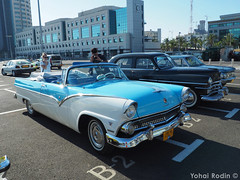 1955 Ford Fairlane Sunliner (Yohai_Rodin) Tags: classic cars car club israel 5 five tel aviv tlv