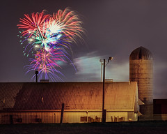 Farm Fireworks (Elliotphotos) Tags: ohio barn university state fireworks farm farming barns firework silo osu columbusohio farms silos elliot theohiostateuniversity waterman fuegosartificiales ohiostate pyrotechnics feuerwerk feudartifice ohiostateuniversity the pyrotechnic feuxdartifices focsartificials fyrværkeri gilfix baseballfireworks elliotphotos watermanfarm billdavisstadium focudartifizi elliotgilfix billdavisfield farmfireworks