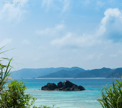 Rocky island paradise, Amami Oshima, Japan (SamKent22) Tags: ocean blue sea seascape beautiful coral japan rural landscape outdoors island japanese countryside asia paradise view turquoise scenic kagoshima lagoon clear tropical okinawa reef idyllic japon giappone amamioshima