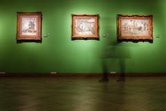 Los impresionistas (Manuel Gayoso) Tags: verde buenosaires arte movimiento museo silueta vangogh pissarro impresionistas