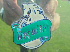 210 Asquith (1981 Automobiles) Badge - History (robertknight16) Tags: asquith shire royale badge badges automobilia luton