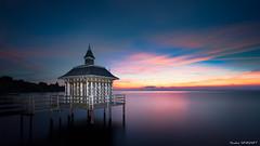 Pavillon Des Bains (Njones03) Tags: 2013 neuchatel suisse pavillon chezlebart gorgier neuchâtel canon 5dmarkiii sunrise sky clouds