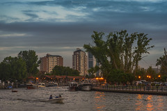 The argentine Venice (Mariano Colombotto) Tags: tigre riotigre buenosaires argentina travel water rio nikon clouds sky nubes cielo travelphotography tourism turismo city river infinitexposure