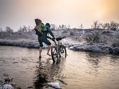 Pyrisjrvi part 3 (Kuutti Heikkil) Tags: mtb mountainbiking pyrisjrvi wilderness area lappi lapland finland