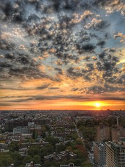 The sun rises in the east (dpakisgood) Tags: jeru sunrise newyorkcity brooklyn nature cloud fortgreene downtownbrooklyn