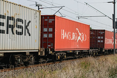 93456 Kingsthorpe 150916 (Dan86401) Tags: 93456 tiph93456 93 kfa freightliner fl intermodal modal container flat wagon freight tiph touax rautaruuki wilsonscrossing kingsthorpe northampton wcml 4m94 hamburgsud