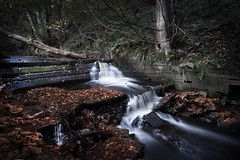 Greenbooth Hidden Falls (manphibian) Tags: greenbooth waterfall falls water river sony sonya7 zeiss loxia 21mm autumn leaves decay undergrowth industry reservoir