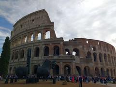 Colosseum, Rome (franciele garcia) Tags: colisseum coliseu europe vatican basilicia rome italy