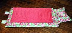 Love Tumble Roses in Pink Nap Mat 2 (preciousnprosper) Tags: napmat amybutler roses